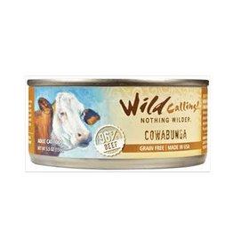 Wild Calling Wild Calling Cat Can Cowabunga 96% Beef 5.5oz