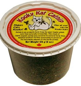 Kooky Kat Catnip Company Kooky Kat Catnip Leaf & Flower Tub 56g