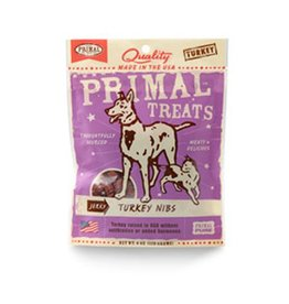 Primal Jerky Turkey Nibs for Dogs & Cats 4oz
