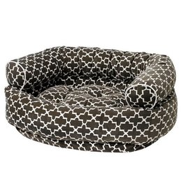 Bowsers Bowsers Double Donut Bed Graphite Lattice