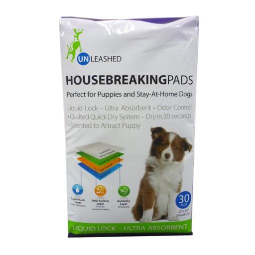 Unleashed Housebreaking Pads 30pk