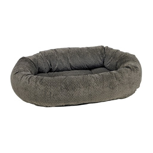 Bowsers Bowsers Donut Bed Pewter Bones
