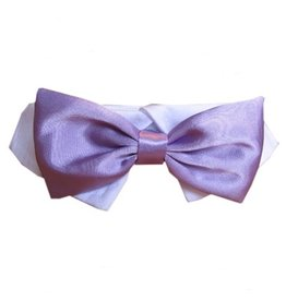 Pooch Outfitter Pooch Outfitters Lavender Satin Bow Tie