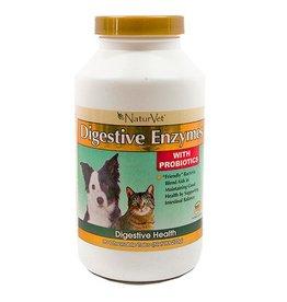 NaturVet NaturVet Digestive Enzymes Tabs 90ct