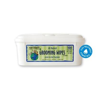 Earthbath Earthbath Green Tea Grooming Wipes 100 count