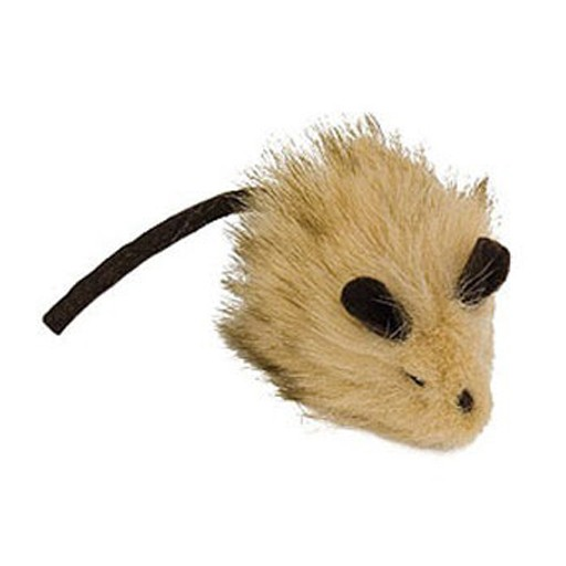 Our Pets Play-N-Squeak Wooly Mouse
