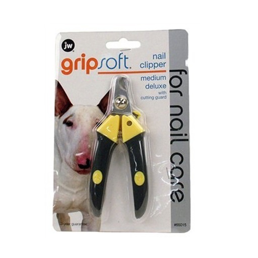 JW JW Gripsoft Deluxe Nail Clipper Medium