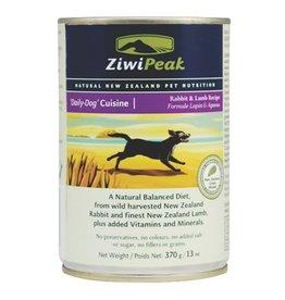 ZiwiPeak ZiwiPeak Dog Can Daily Cuisine Rabbit & Lamb 13.5oz
