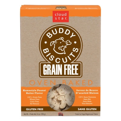 Cloud Star Buddy Biscuits Homestyle Peanut Butter 14oz
