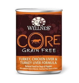 Wellness Wellness Dog CORE Can Turkey, Chicken Liver 12.5oz