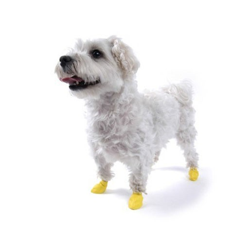 Pawz Dog Boots, Yellow, XXS