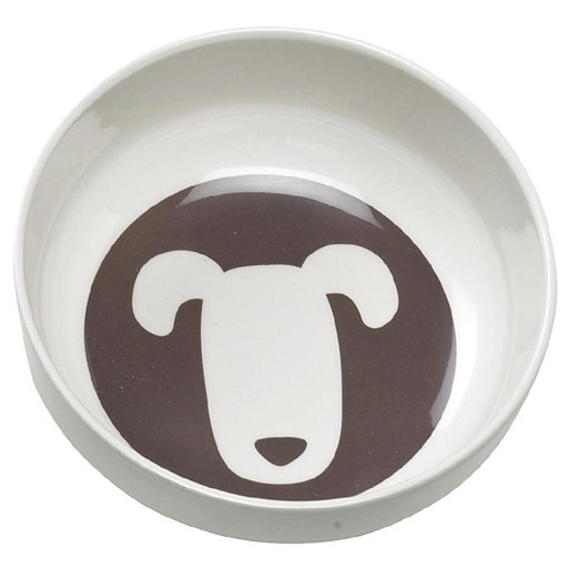 Ore Ore Pet Shadow Dusty Brown Dog Bowl