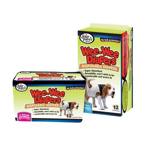 Four Paws Four Paws Wee-Wee Disposable Diapers