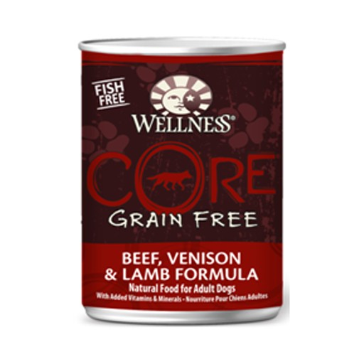 Wellness Wellness Dog CORE Can Beef, Venison, Lamb 12.5oz