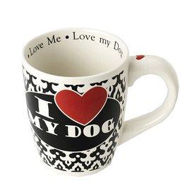 Petrageous Petrageous I Love my Dog Jumbo Mug 28oz