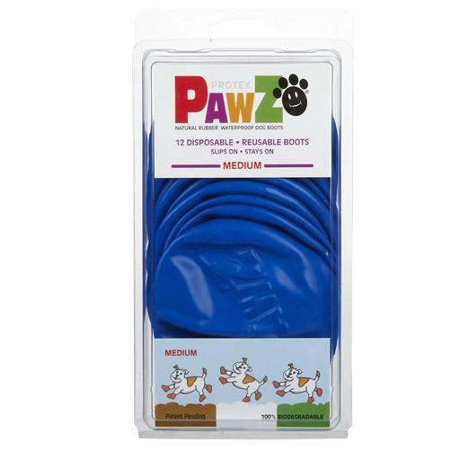 Pawz Dog Boots, Blue, M