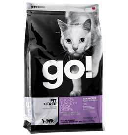 Petcurian Go Cat Dry Fit + Free Chicken, Turkey, Duck 3lb