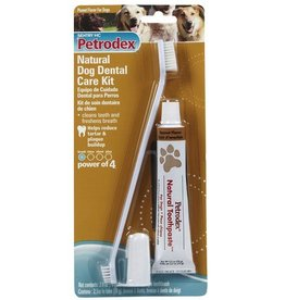 Petrodex Natural Toothbrush Kit 2.5oz