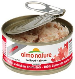 Almo Almo Nature Cat 100% Chicken Drumstick in Broth 70g