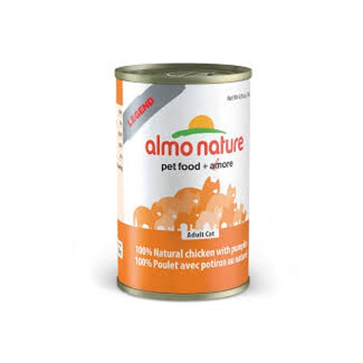 Almo Almo Nature 100% Chicken & Pumpkin in Broth 140g