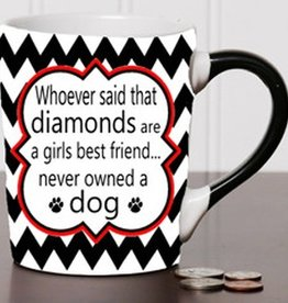 "Tumbleweed Tumbleweed ""Whoever Said Diamonds…"" Mug 20oz"