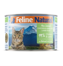 K9 Natural K9 Natural Cat Can Chicken & Lamb 6oz