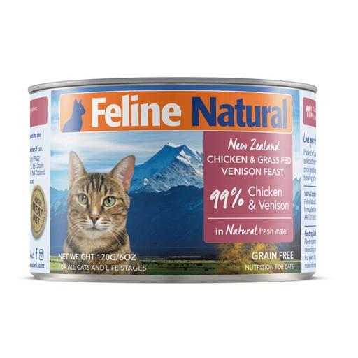K9 Natural K9 Natural Cat Can Chicken & Venison 6oz