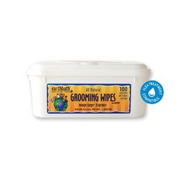 Earthbath Earthbath Mango Tango Grooming Wipes 100 count