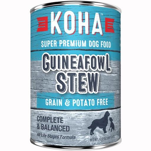 Koha Dog Can Guineafowl Stew 12.7oz