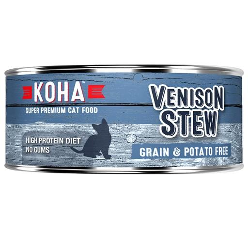 Koha Cat Can Venison Stew 5.5oz
