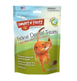 Emerald Pet Products Smart n' Tasty Feline Dental Treat Tuna 3oz