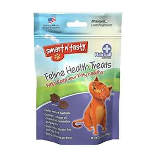 Emerald Pet Products Smart n' Tasty Feline Treat Hairball Formula Chicken 2.5oz