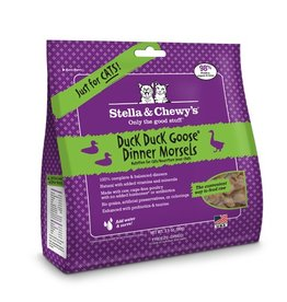 Stella & Chewy's Stella & Chewy's Freeze Dried Cat Duck, Duck, Goose Dinner 3.5oz