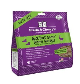 Stella & Chewy's Stella & Chewy's Freeze Dried Cat Duck, Duck, Goose Dinner 8oz