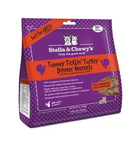 Stella & Chewy's Stella & Chewy's Freeze Dried Cat Tummy Ticklin' Turkey Dinner 8oz