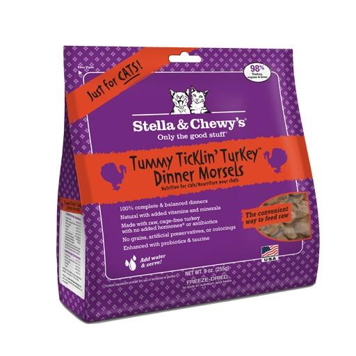 Stella & Chewy's Stella & Chewy's Freeze Dried Cat Tummy Ticklin' Turkey Dinner 8oz