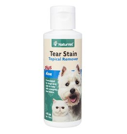 NaturVet Naturvet Tear Stain Topical with Aloe 4oz