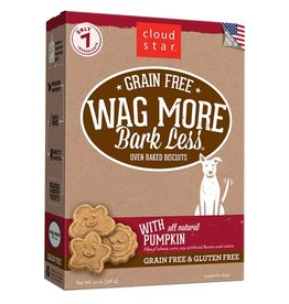 Cloud Star Cloud Star Wag More Bark Less Biscuits Pumpkin 14oz