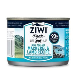 ZiwiPeak ZiwiPeak Daily Cusine Cat Can Mackerel & Lamb 185g