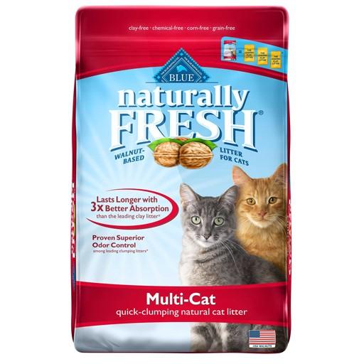 Blue Naturally Fresh Mulit-Cat Quick Clumping Cat Litter 2.72kg