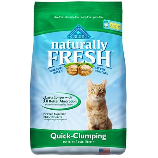 Blue Naturally Fresh Quick Clumping Cat Litter 2.72kg