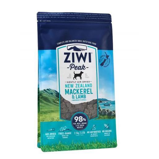 ZiwiPeak ZiwiPeak Daily Cusine Dog Pouch Mackerel & Lamb 2.5kg