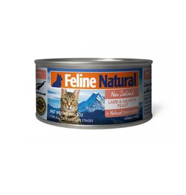 K9 Natural K9 Natural Cat Can Lamb & Salmon 6oz