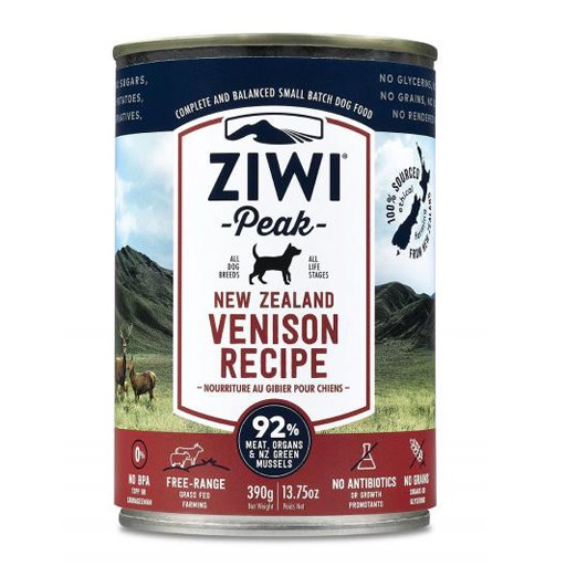 ZiwiPeak ZiwiPeak Daily Cusine Dog Can Venison 390g