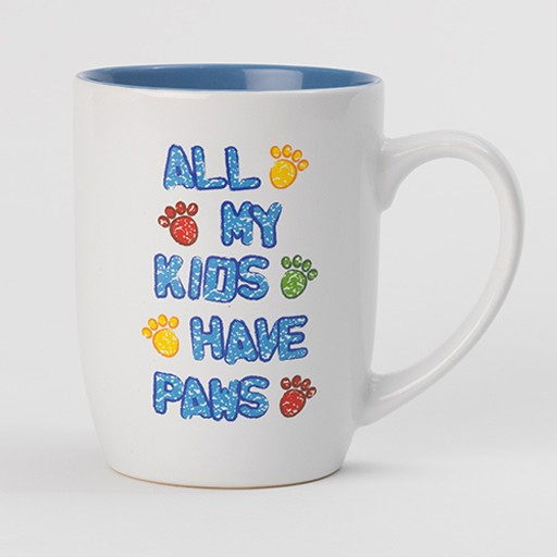 Petrageous Petrageous All My Kids Have Paws Mug 24oz