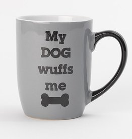 Petrageous Petrageous My Dog Wuffs Me Mug 24oz