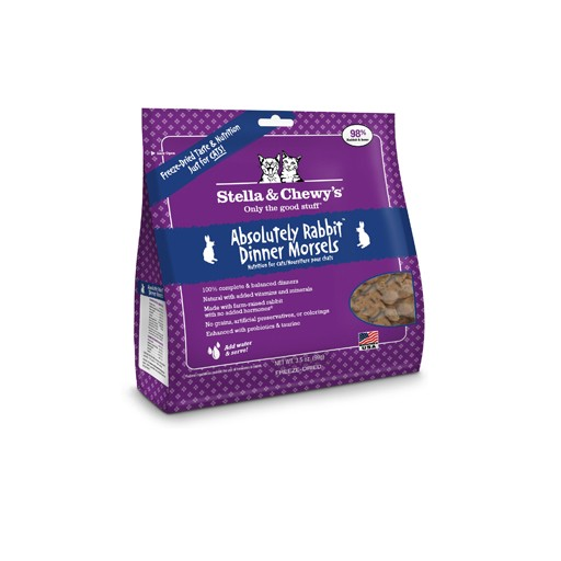 Stella & Chewy's Stella & Chewy's Freeze Dried Cat Absolutely Rabbit Dinner 3.5oz