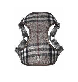 Pretty Paw Designer Harness London Fog