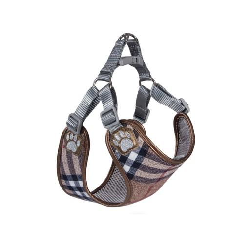 Pretty Paw Designer Harness Scotland Taupe