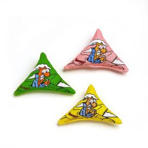 Yeowww Purrmuda Triangle Catnip Toy